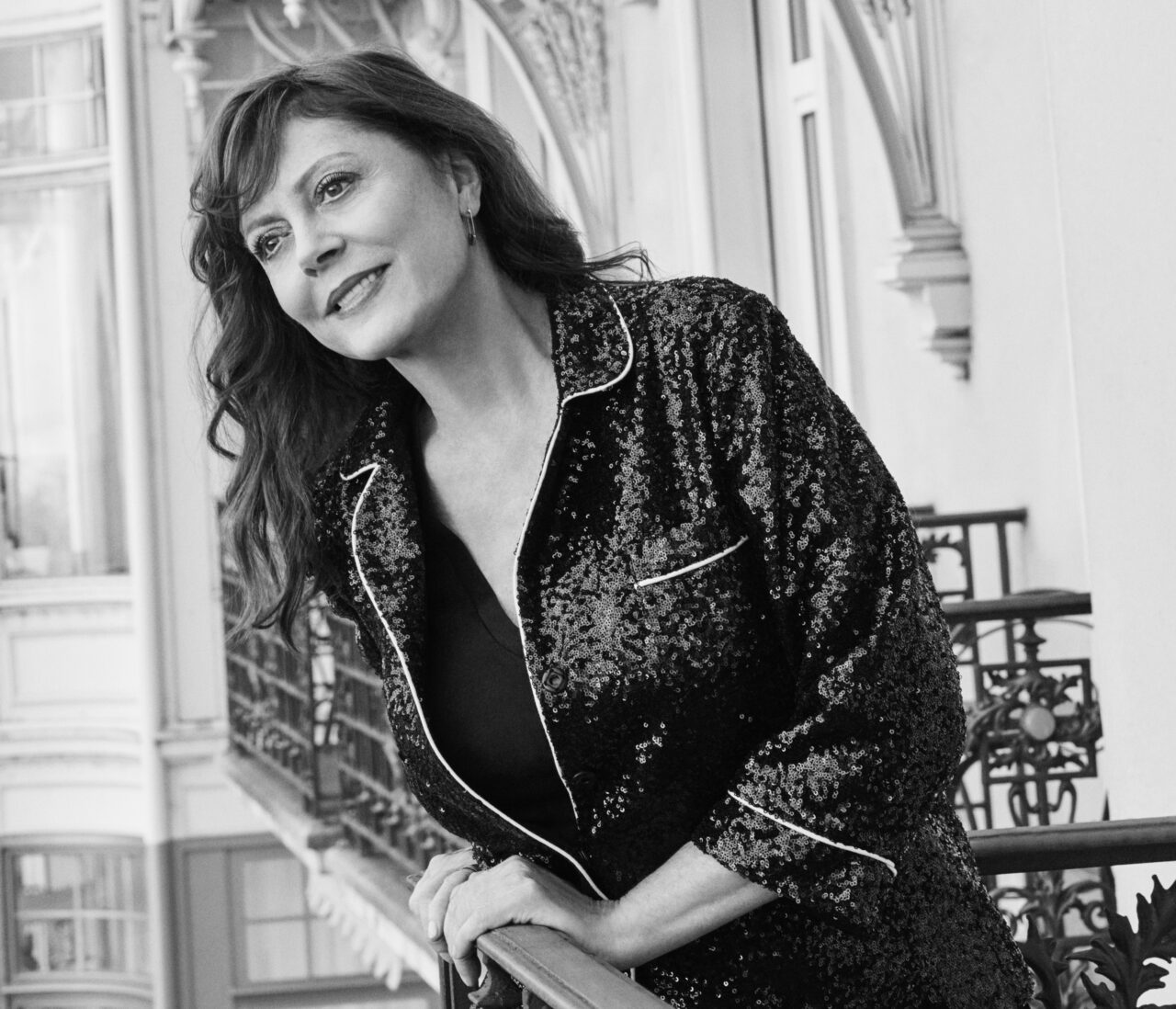 Susan Sarandon, star du cinéma, devient ambassadrice internationale de Fairmont Hotels & Resorts