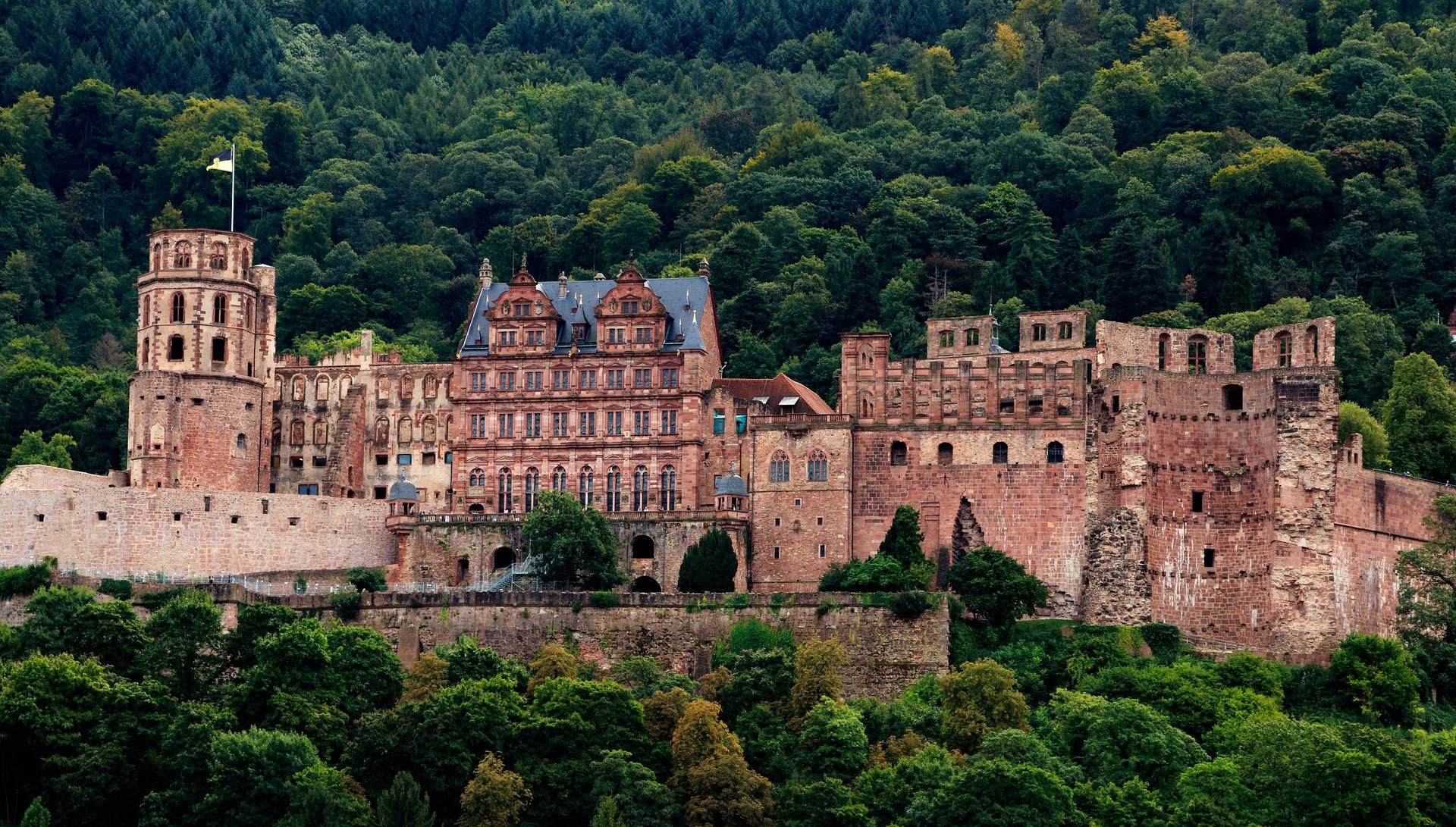 Heidelberg, la ville historique