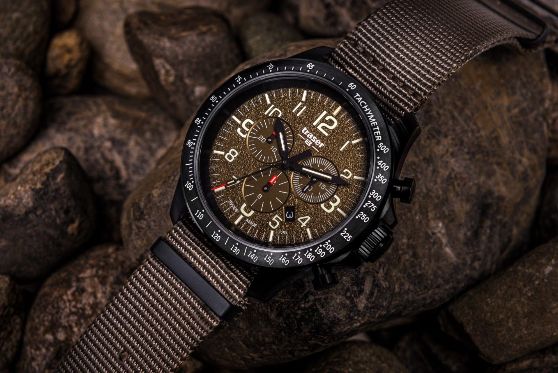 Maison horlogère bernoise traser: La montre outdoor infaillible pour le moment décisif