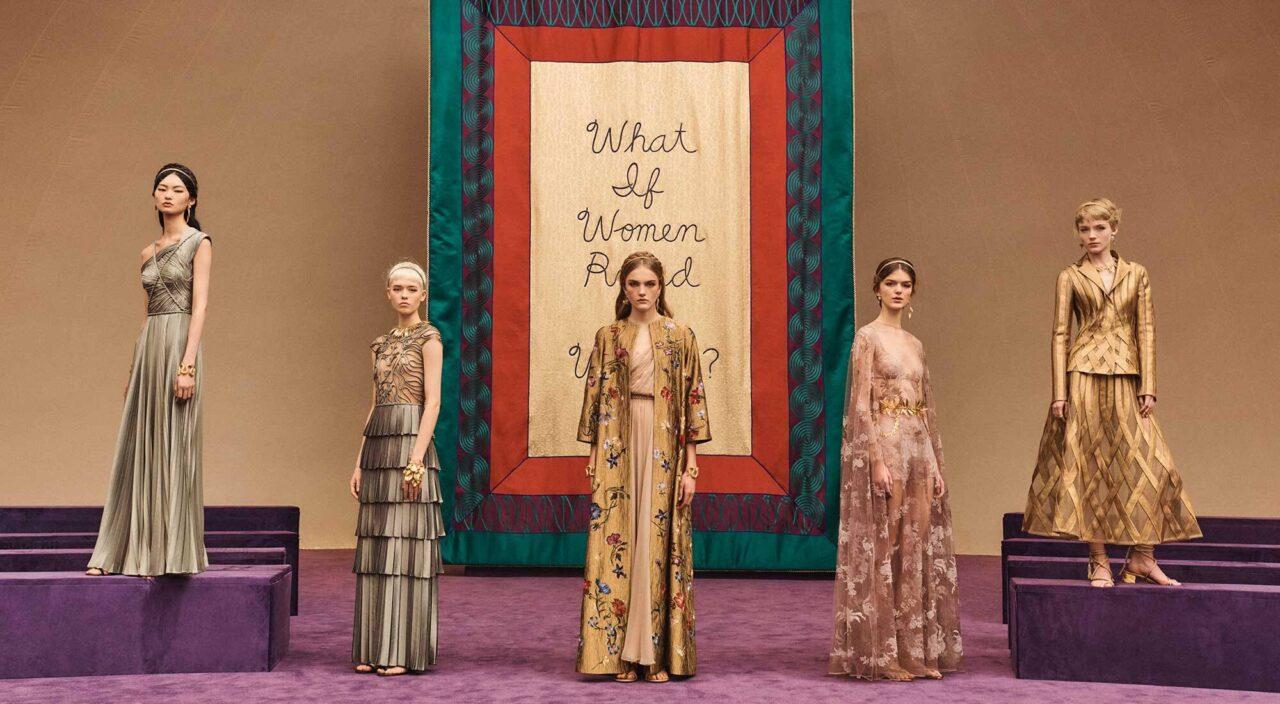 Défilé Dior haute couture Printemps-Été 2020 : Maria Grazia Chiuri érige la femme en amazone des temps modernes