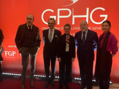 Les finalistes de l'édition 2021 du GPHG exposées à Saint-Pétersbourg