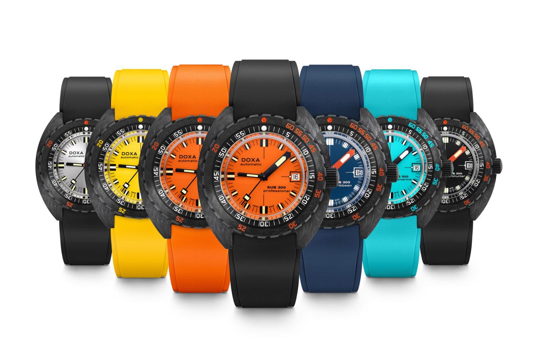 Orangemania, mais pas seulement ! – La couleur coule dans l'ADN des montres DOXA